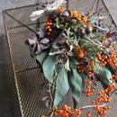 野の花屋 ツルウメモドキオータムスワッグ