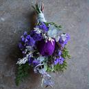 野の花屋 バンクシャーのパープルスワッグ