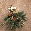 野の花屋 ワイルドフラワークリスマススワッグ