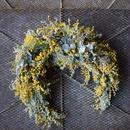 野の花屋 ミモザのクレッセントリース
