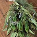 野の花屋  ユーカリとリュウカデンドロンのスワッグ