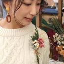 ファーマーズのお花を使った『花ブローチ』ワークショップ |12/17(日)(約10分)
