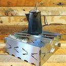 「野良プレート(M)」焚き火サークル/焚き火台(1枚単位での販売です)※本製品は4枚以上を組み合わせて使用する製品です