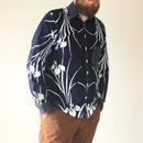 Men's Iris pattern casual shirt (no.086)