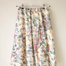 Flower pattern Kimono Skirt (no.048)