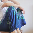 hydrangea pattern casual pants (no.161)