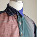 Chic color kimono casual shirt (no.141)