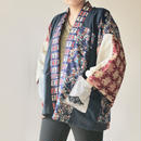 Japanese Haori style half jacket (no.091)