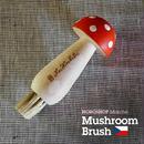 【NOROSHOP  Marché】木製きのこブラシ