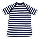 NOS 60's BORDER STRIP COTTON T-SHIRT NAVY/WHITE (L) デッドストック ボーダー コットン Tシャツ 紺白