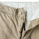 30's~ U.S.ARMY TROUSERS,COTTON,KHAKI (30×31) チノパンツ メタルチノ M-37