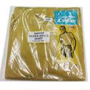 NOS 60's JOCKY Life TAPERED T SHIRT mustard (L) デッドストック ジョッキー リブファブリック Tシャツ マスタード 無地