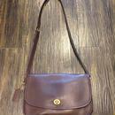 1990's old coach shoulder bag brown