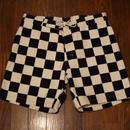 『SD Checker Surf Shorts』 Black/White w30