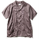 SILK COTTON SATIN CUBA SHIRTS 【WOMENS】