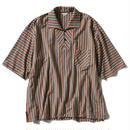 STRIPE BIG POLO SHIRT【MENS】
