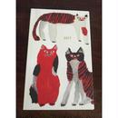 ミロコマチコ手帳 2017年度 赤猫