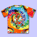 【予約商品 6月下旬以降お届け】HOT PSYCHE DOG DELiC  ALL OVER PRINT T-Shirts