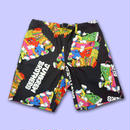 【予約商品 6月下旬以降お届け】JUNKREW BROS. ALL OVER PRINT SHORT PANTS