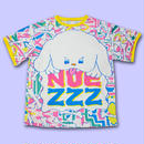 PUPPY ALL OVER PRINT T-Shirts〈NZ002-3〉