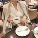 Linen beige JK【即納】