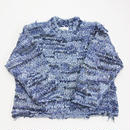 Re: Flannnel - Crew neck pullover knit  #Denim002  by old park × NuGgETS