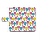 Shimako(しまこ) balloon 手帳型スマホケース 対応機種(iPhone/アンドロイド機種)