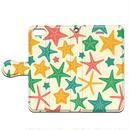 No.INFINITE love sea Starfish by maw 手帳型スマホケース 対応機種(iPhone/アンドロイド機種)