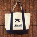 CANVAS TOTO BAG_NAVY
