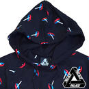 PALACE Skateboardsパレススケート ALL OVER LIPS HOOD