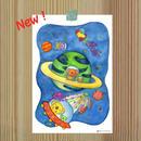 ポストカード コアランシリーズ 「コアランの宇宙探検」