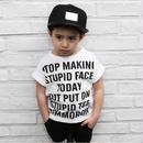 【FLY DADDY】英字プリントTシャツ
