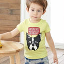 【PARTY KIDS】ドッグプリントTシャツ