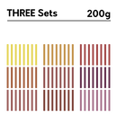 200g THREE sets
