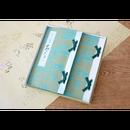 狭山万葉銘茶「さらさら 和装本2冊」