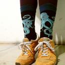 NO リアル, NO  ライフ!メンズソックス /  Ood socks