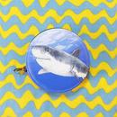 ホホジロザメ ラウンドポーチ/ Shark purse