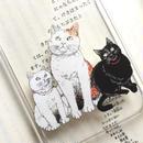 iPhoneクリアケース・CATSシリーズ/ iPhone case