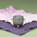 071-02 香炉 亀蓋(平丸)