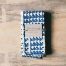 JENNY PENNYWOOD NAPKINS - Triangles Indigo