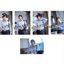 舞台「カフェ・パラダイス」 個人ブロマイド5枚セット 中尾拳也
