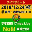チケット 『2018/12/24(祝) 宇都直樹 X'mas Live  Noël 東京公演』