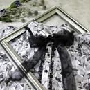 organdy flower blouse