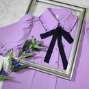 ribbon blouse