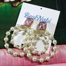 circle pearl  pierce
