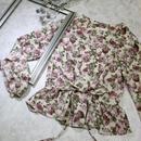rétro flower blouse