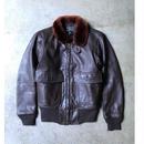 60's U.S.N.  G-1  flight jacket  (USED)