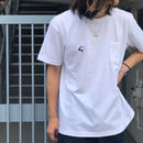 Diaspora skateboards / DET Pocket Tee (white)