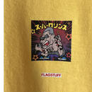 "F-LAGSTUF-F /  "" Super Rollins "" Tee   (yellow)"