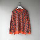 "F-LAGSTUF-F /  "" AK-47 "" cotton sweater  (orange)"